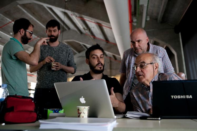 Jornadas Ciudades Democráticas. Red de comunes democráticos. Media Lab Madrid